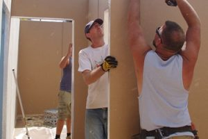 Corporate volunteer builders