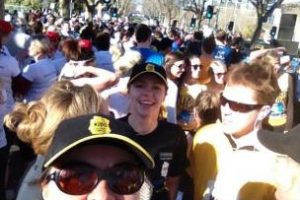 Corwd at Run Melbourne