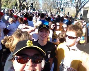 Corwd at Run Melbourne