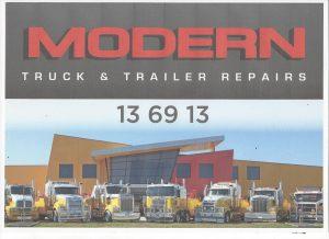 MODERN TRUCK REPAIRS SIGN