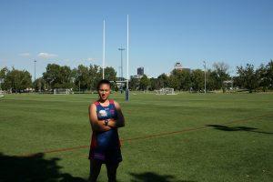 Aliesha on the field web